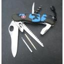 Couteau suisse à blocage SERIE LIMITEE bleu