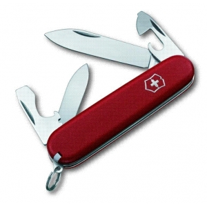 Couteau suisse RECRUIT ECOLINE 6 pièces