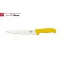 Couteau à découper Victorinox fibrox jaune lame de 22cm