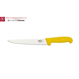 Couteau à découper Victorinox fibrox jaune lame de 25cm