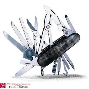 Couteau suisse SWISSCHAMP en CORNE