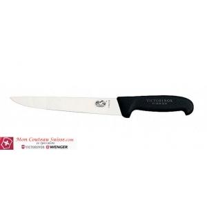 Couteau à découper Victorinox fibrox noir lame de 20cm
