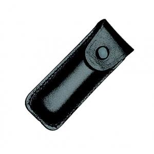 Etui en cuir noir pour canifs de 58mm