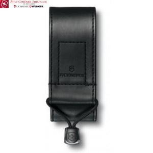 Etui en cuir synthétique noir 6-14p