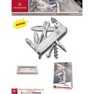 Couteau Suisse CLIMBER White Christmas
