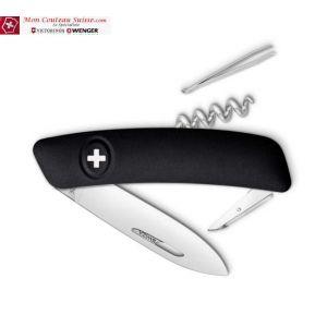 Couteau Suisse Swiza D01 Noir