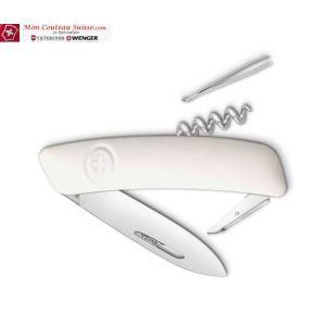 Couteau Suisse Swiza D01 Blanc