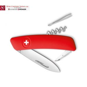 Couteau Suisse Swiza D01 Rouge