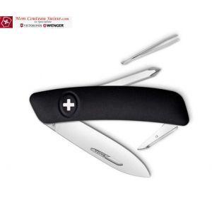 Couteau Suisse Swiza D02 Noir