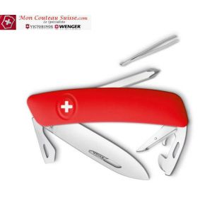 Couteau Suisse Swiza D04 Rouge