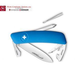 Couteau Suisse Swiza D04 Bleu