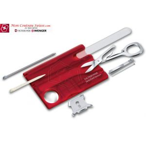 Nailcare Victorinox Rouge Translucide