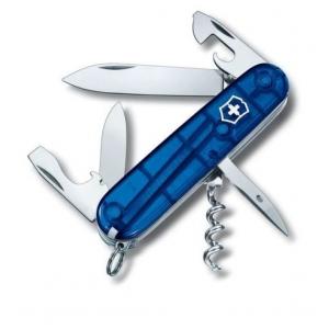 Couteau suisse SPARTAN bleu translucide
