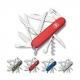 Couteau suisse HUTSMAN rouge translucide