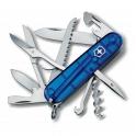 Couteau Suisse Huntsman Bleu Translucide