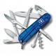Couteau suisse HUTSMAN bleu translucide