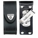 Etui couteau suisse cuir noir avec clip pivotant 15-23p