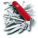 Couteau suisse SWISSCHAMP ROUGE TRANSLUCIDE